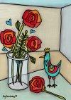 Roses in jar FB