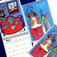 Nettsalg av Kunstkalender avsluttet