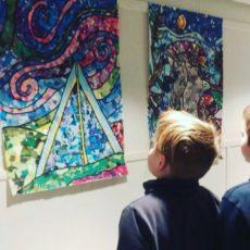 Dornberg-kunst ble 5.klasse kompetansemål